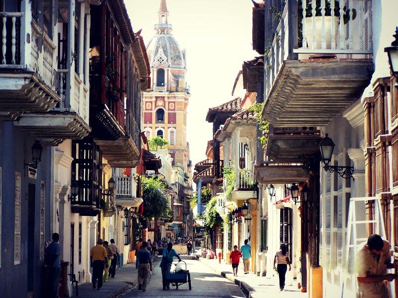 Die Kathedrale von Cartagena