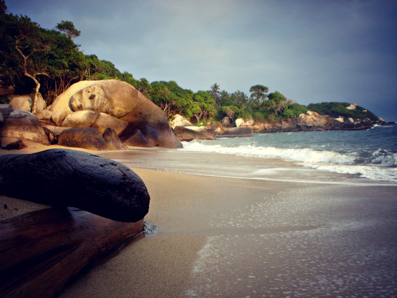 In 20 Fotos um die Welt - Kolumbien: Nationalpark Tayrona