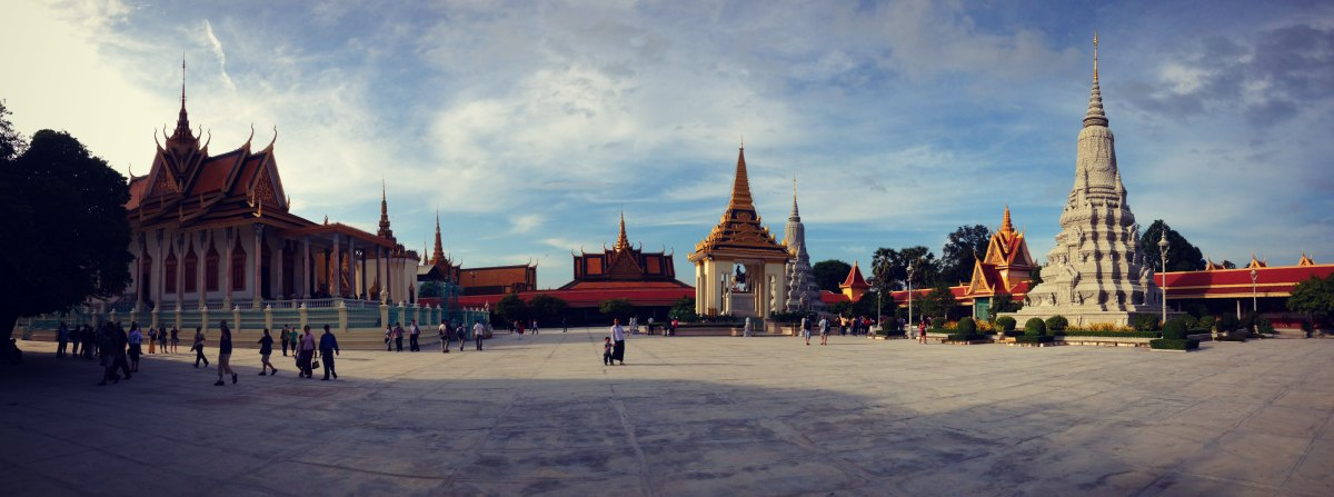 Royal Palace in Phnom Phen