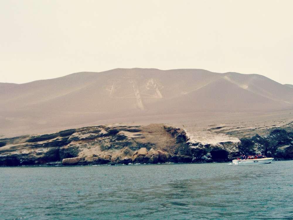 Islas Ballestas: El Candelabro