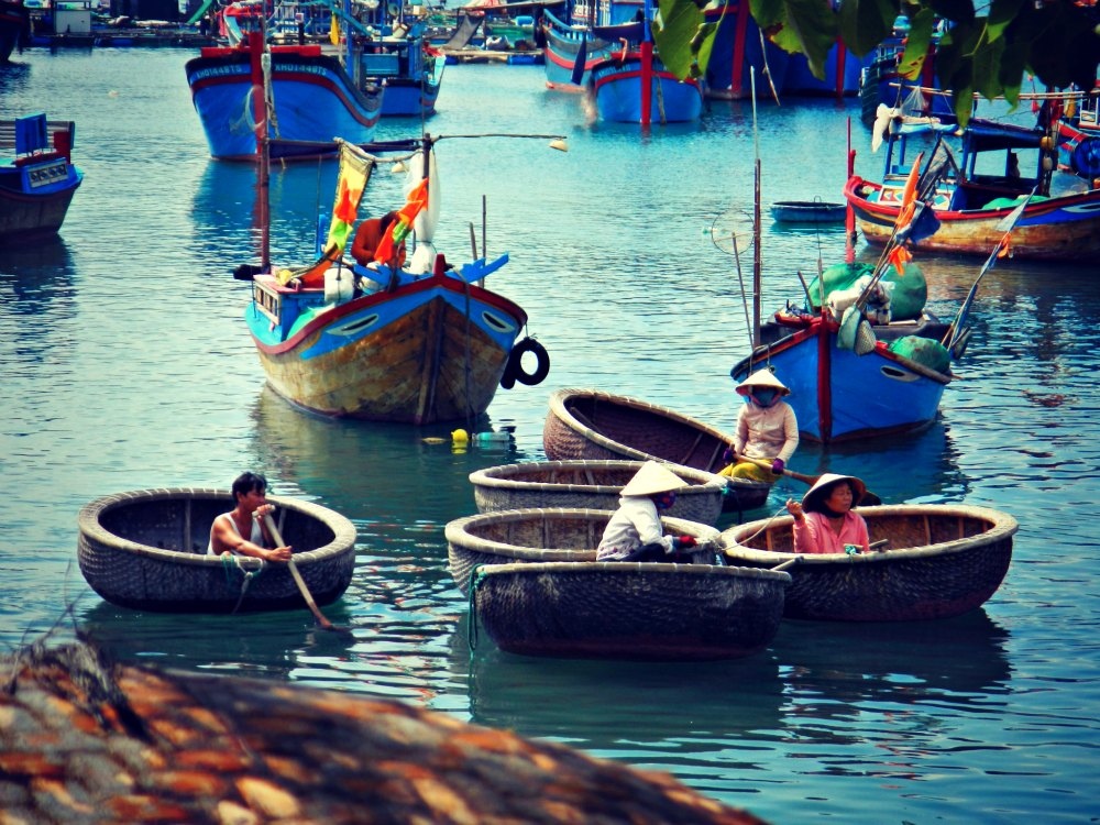 Vietnam: Fischerdorf bei Nha Trang