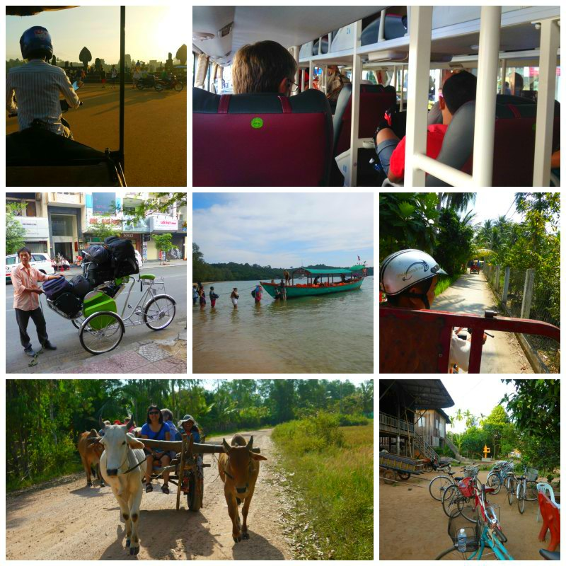 Transportmittel Vietnam - Kambodscha - Thailand