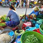 Vietnam: Frisches Obst und Gemüse auf dem Markt