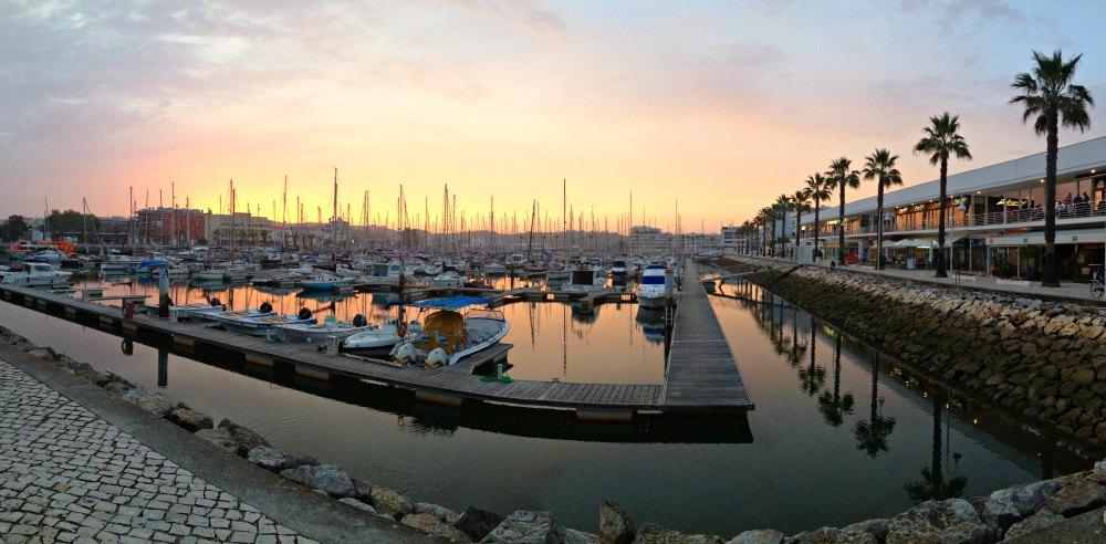 Der moderne Yachthafen von Lagos