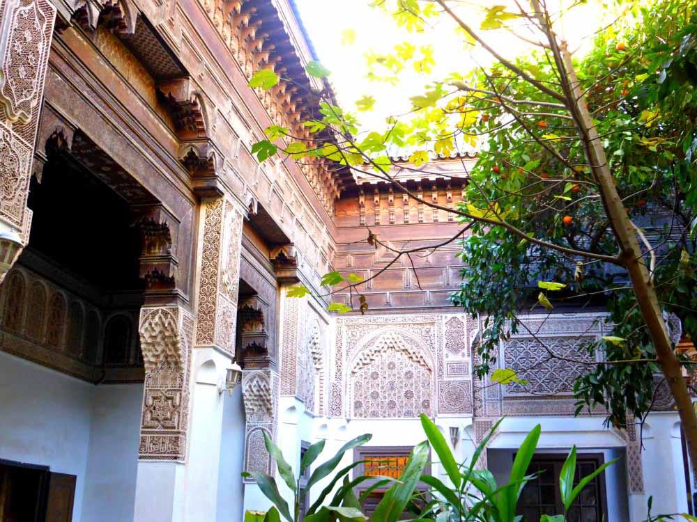 Orangen, Ornamente und Orient im Bahia Palast