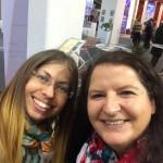 Reiseblogger-Kollegen auf der ITB