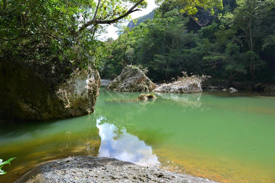 Badestelle am Rio Yumuri, Baracoa