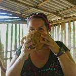 Baracoa: Frische Kokosmilch