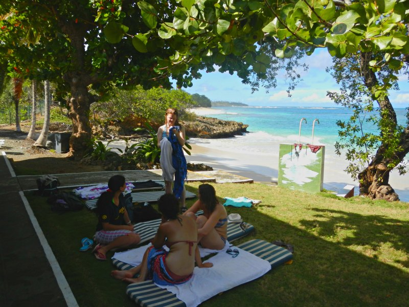 Strand bei der Villa Maguana, Baracoa