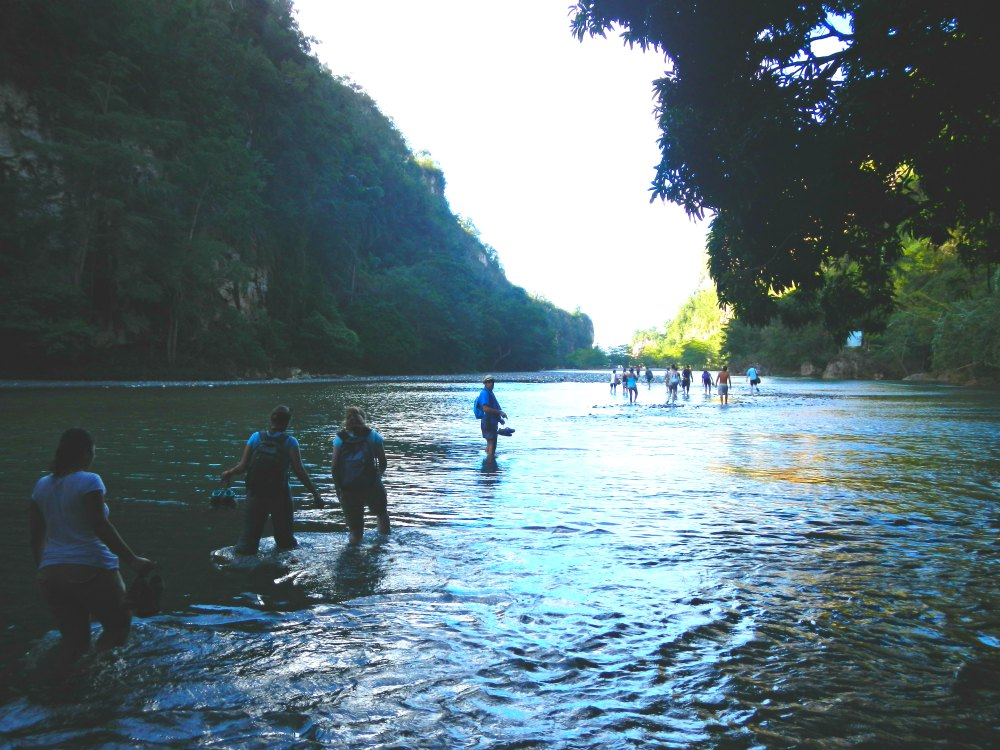Flusswanderung durch den Rio Yumuri