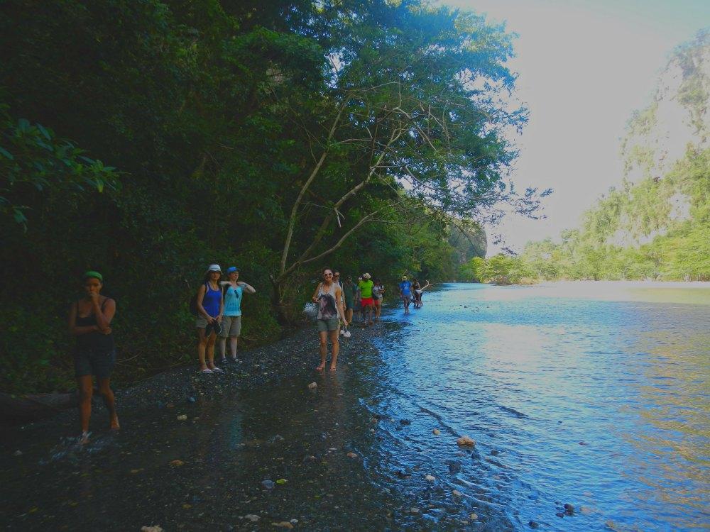 Trekking am Rio Yumuri