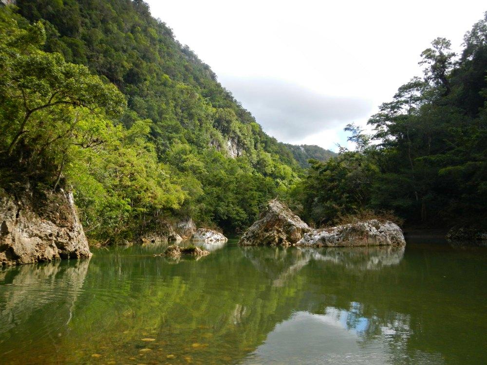 Badestelle am Rio Yumuri