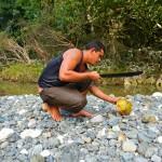 Baracoa / Rio Yumuri: Frische Kokosmilch