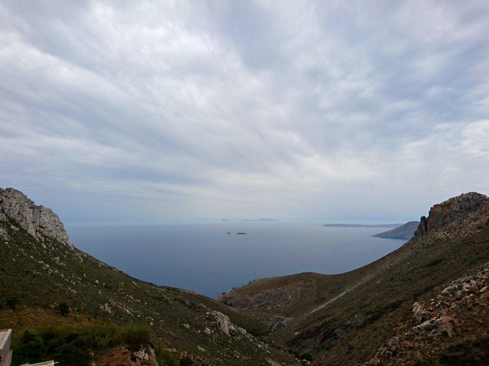 Aussicht vom Kloster Agios Ioannis, Astypalea