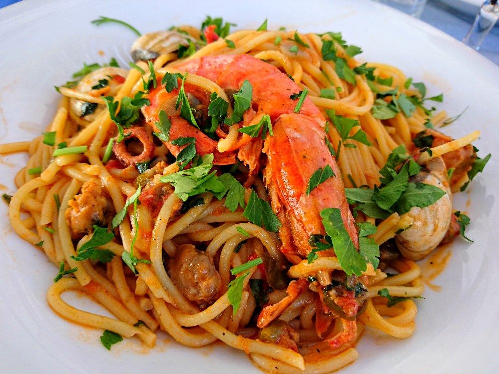 Leckere griechische Küche in Astypalea