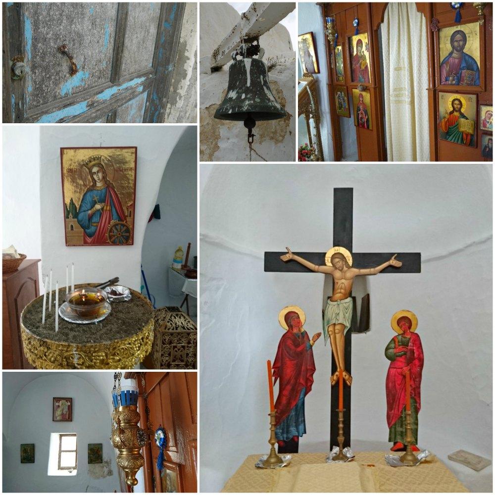 Astypalea: Kloster Agios Ioannis von innen