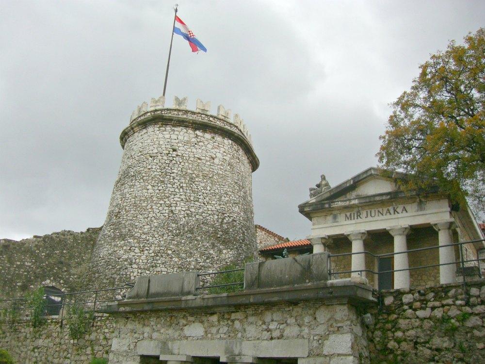 Burg Trsat in Rijeka - Kroatien