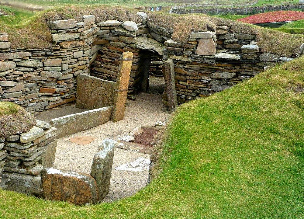 Steinzeit-Dorf Skara Brae, Schottland