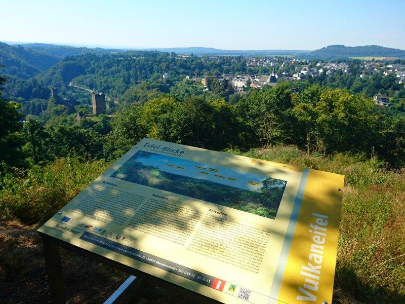 Aussichtspunkt Eifelblick Belvedere