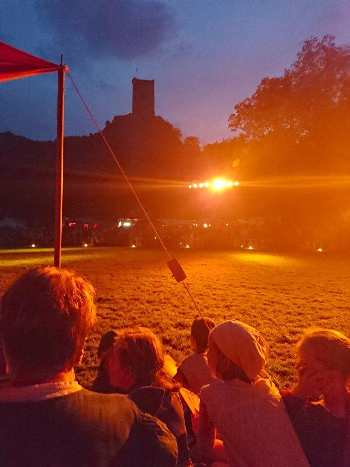Historisches Burgenfest in Manderscheid: Nächtliches Ritterturnier