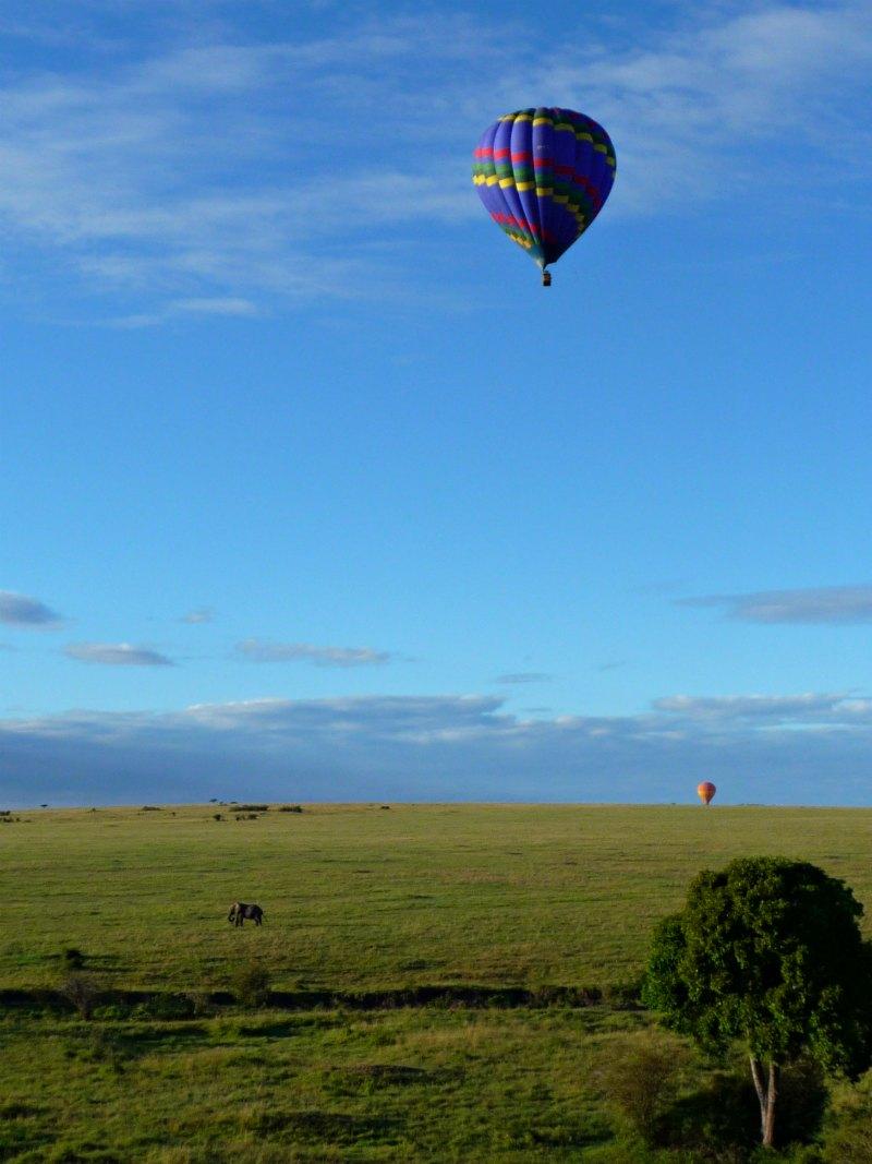 Afrika: Ballonfahrt in der Masai Mara