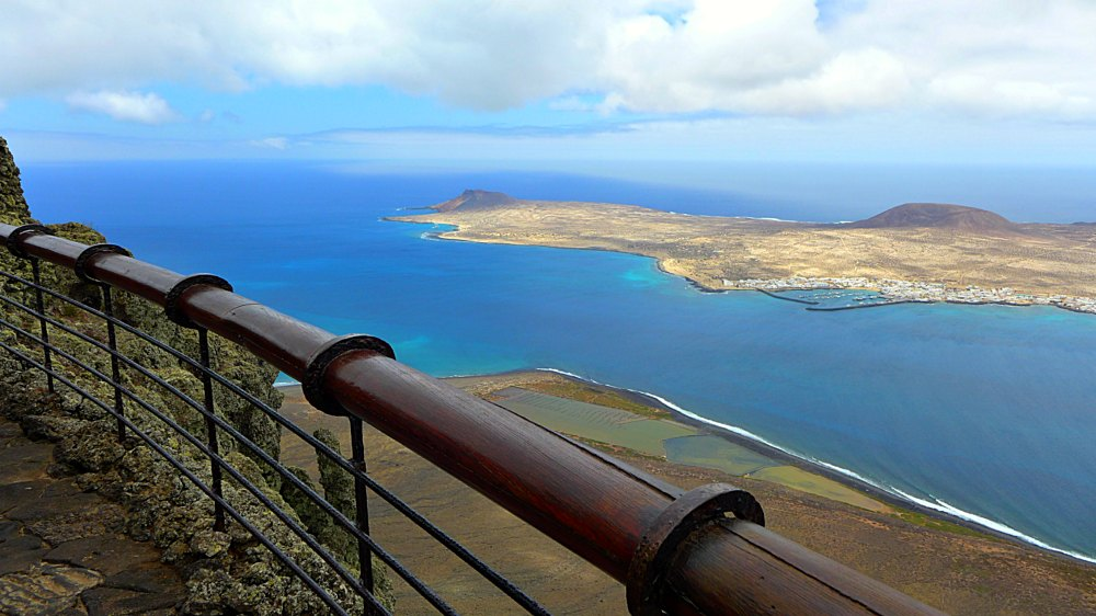 Lanzarote: Blick auf La Graciosa