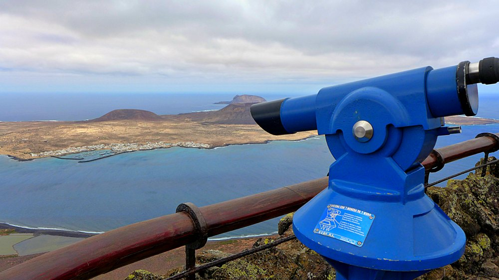 Lanzarote: Aussichtspunkt Mirador del Rio