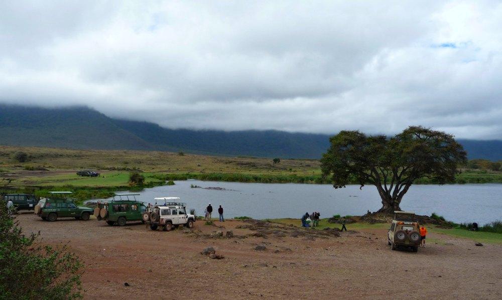 See im Ngorongoro Krater, Tansania, Afrika