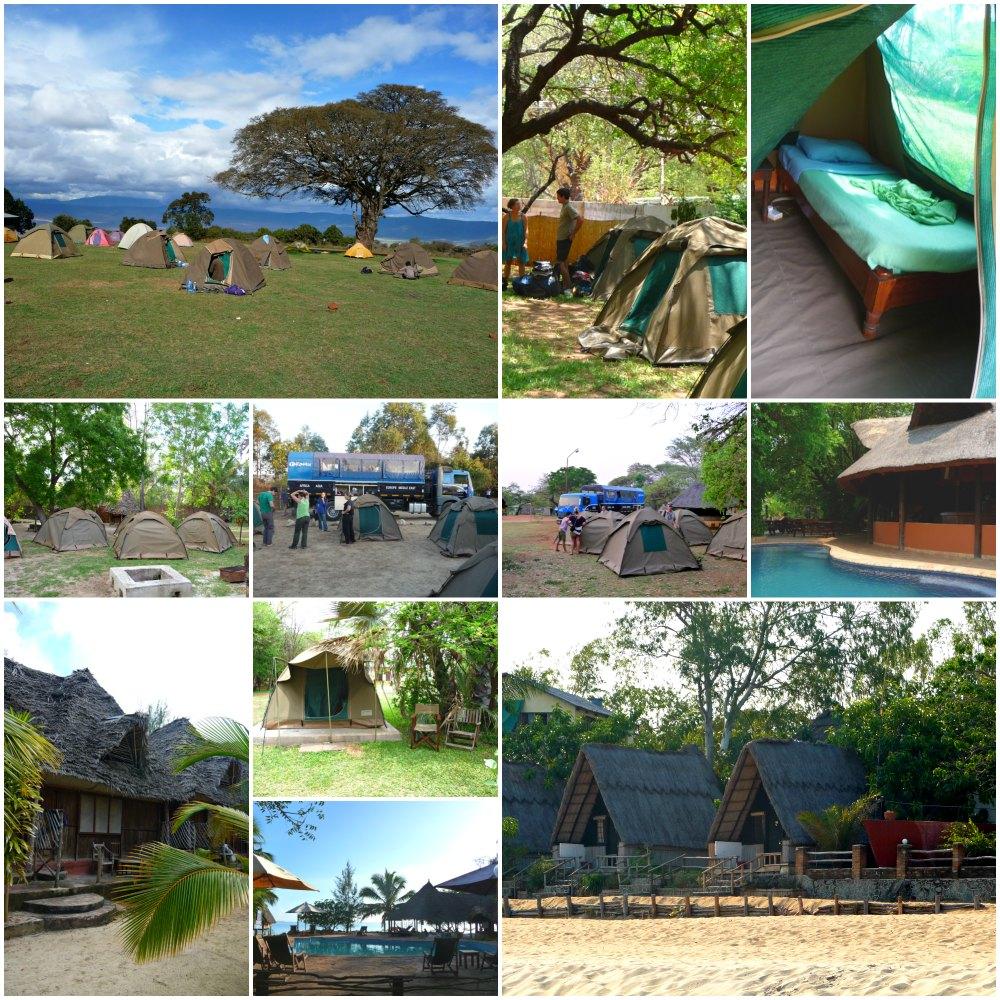 Afrika Overland Tour: Campen & Unterkünfte Overlanding Ostafrika