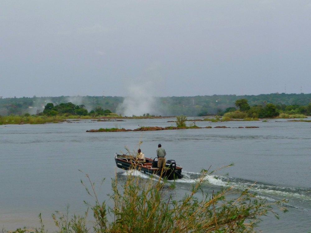 Victoria Fälle in Afrika, Sambesi