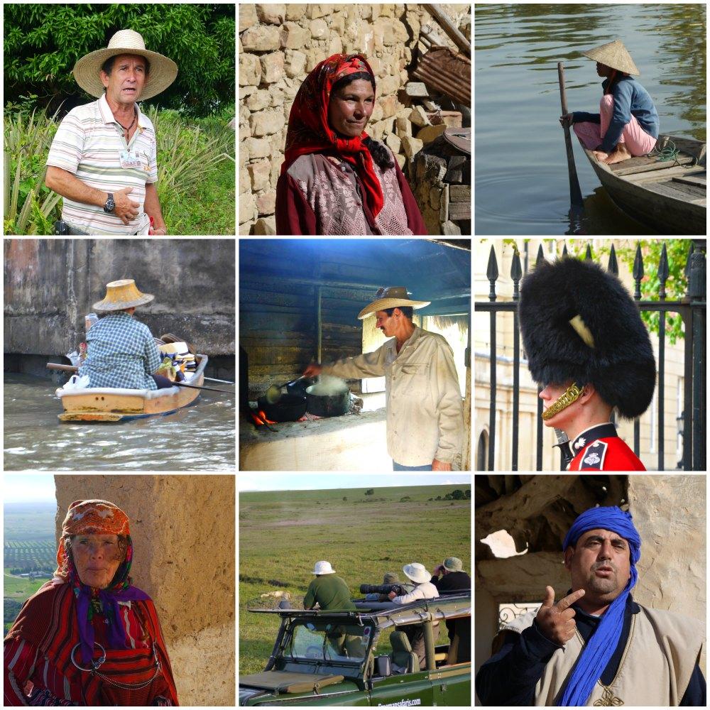 Kopfbedeckungen aus aller Welt