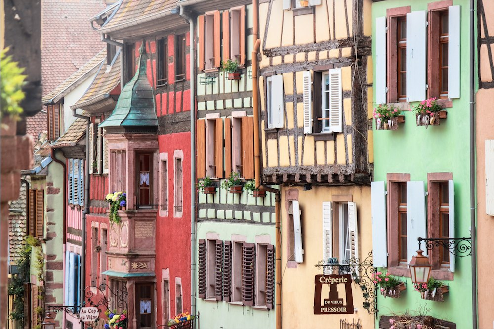 Elsass-Tipp: Ribeauville & Riquewihr