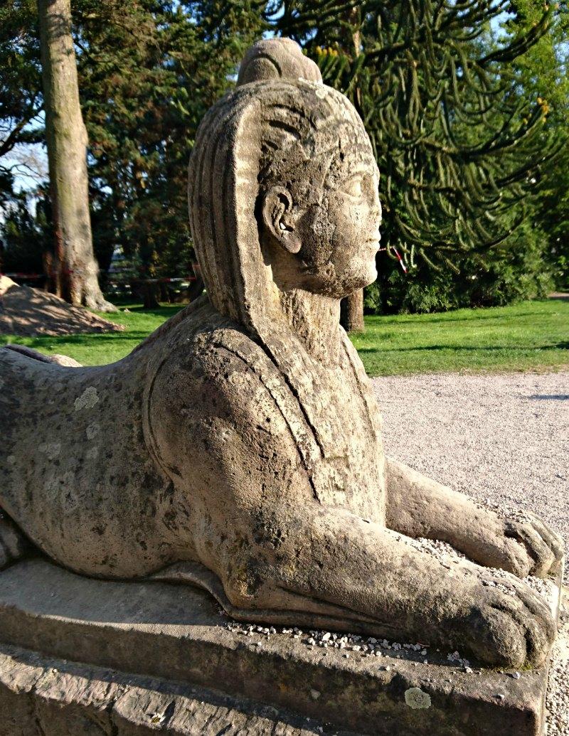 Sphinx im Botanischen Garten Karlsruhe