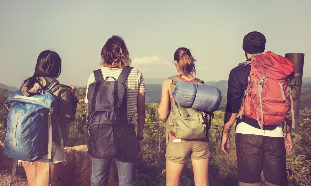 """Eine Auswahl von Backpacking-Rucksäcken – Den """"Einen"""" Rucksack gibt es nicht (Bild: Kofferfuchs.de)"""