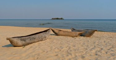 Kande Beach am Malawi See