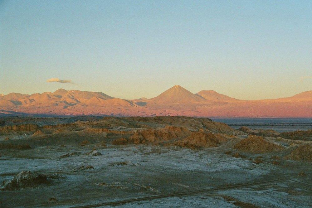 Chile: Sonnenuntergang in der Atacama Wüste