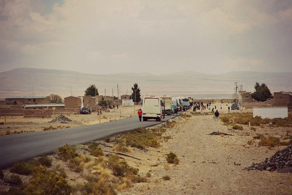 Generalstreik und Straßensperren in Bolivien