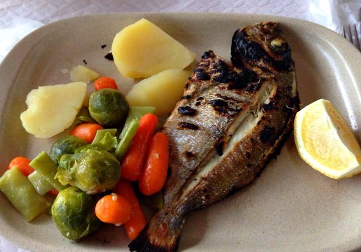 Frischer Fisch: Sitio do Forno, Carrapateira