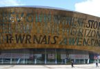Wales: Millenium Center in Cardiff