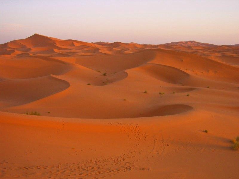 Reiseziele im Winter: Ab in die Wüste
