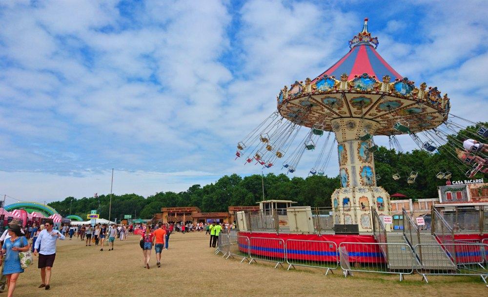 Karusell beim BST Festival im Hyde Park