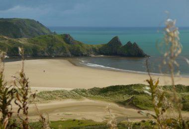 Wales: Three Cliffs Bay, Roadtrip Gower