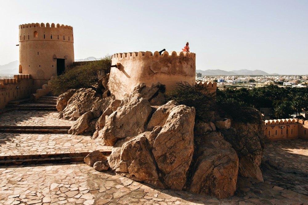 Oman: Fort Nakhl | Bild: Reiseadrenalin