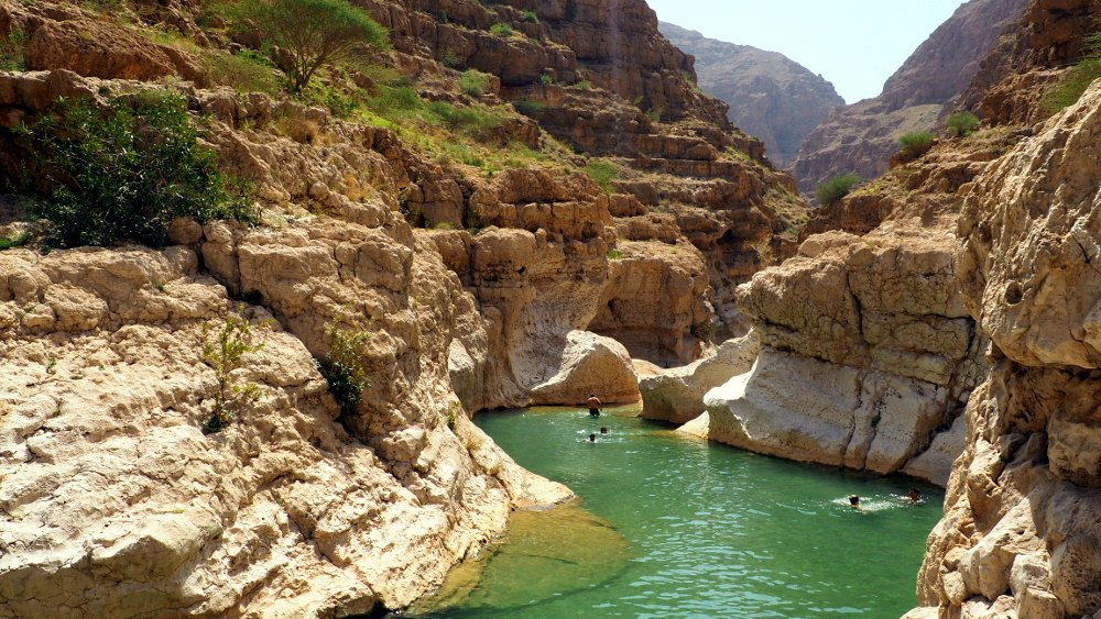 Pool im Wadi Shab | Bild: Everywhere But Home