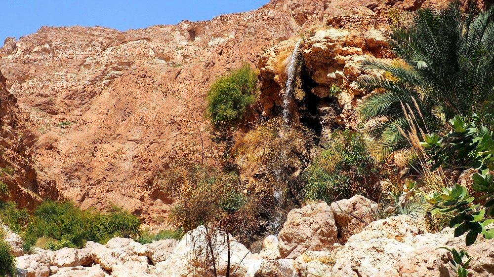Wasserfall im Wadi Shab | Bild: Everywhere