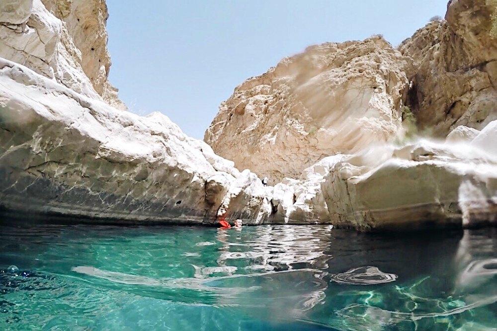 Oman: Wadi Bani Khalid | Bild: Reiseadrenalin