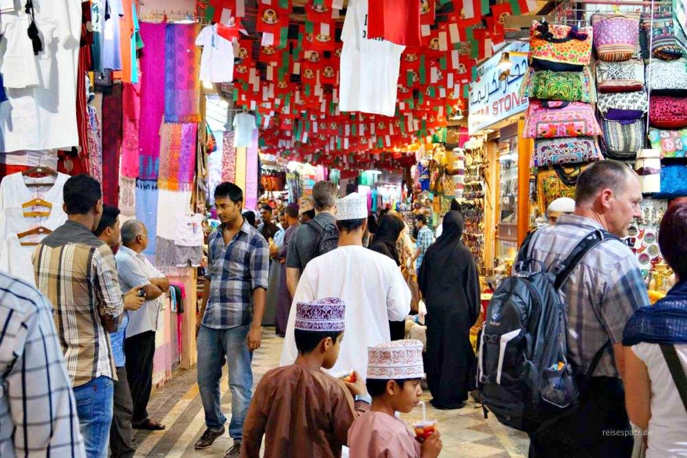 Auf dem Souq in Muscat | Bild: ReiseSpatz