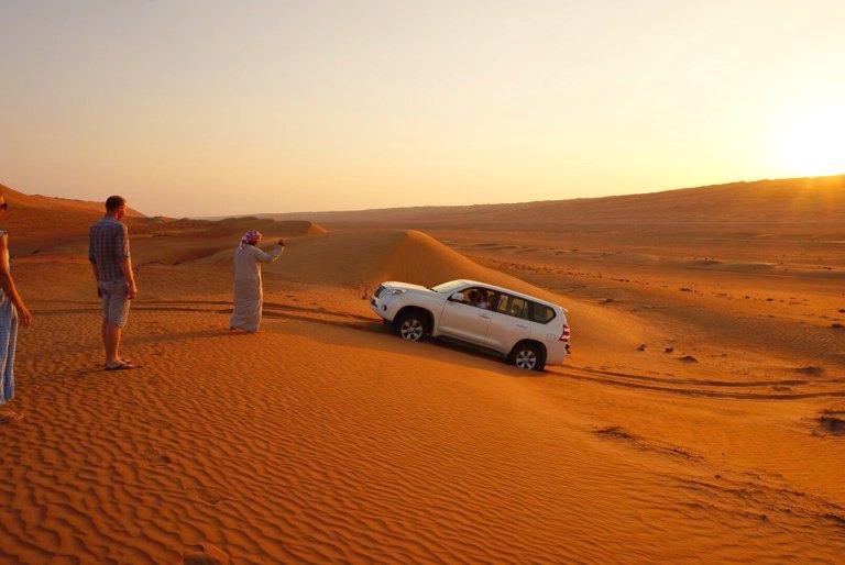 Oman: Mit dem Geländewagen durch die Wüste | Bild: Travellus
