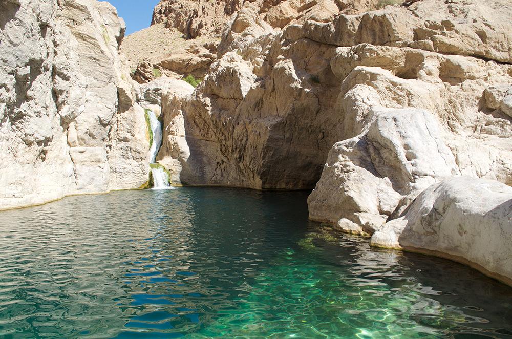 Wadi Bani Kalid | Bild: Carola Brunnbauer, Travellingcarola