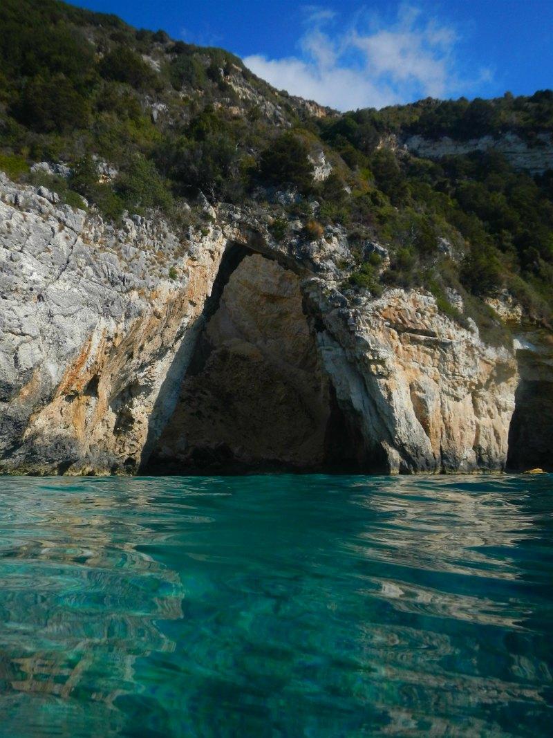 Die blauen Grotten von Paxos | Griechenland
